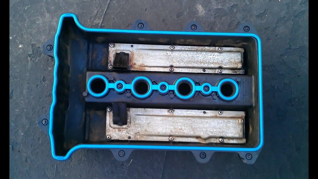 saturn sl2 valve cover gasket replacement dohc  [ 1280 x 720 Pixel ]