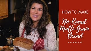 How to Bake Delicious No-Knead Multi-Grain Bread