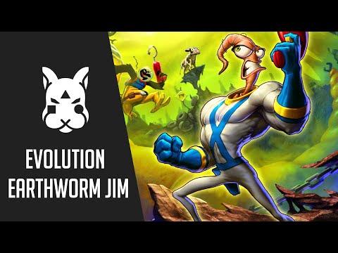 Evolution : Earthworm Jim  1994 - 2017