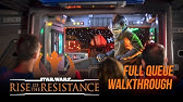 Rise of the Resistance Full Queue Walkthrough