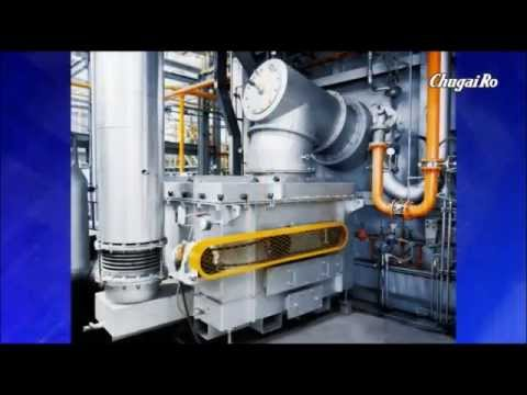"Industrial burner of Japanese furnace maker ""Chugai Ro"""