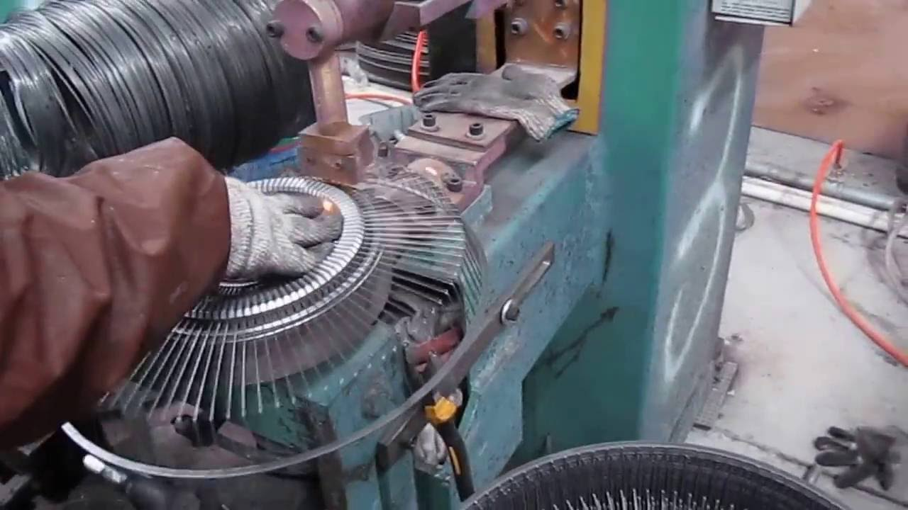 home fan production line - YouTube
