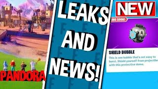 *NEW* Leaked Fortnite Season 10 Cosmetics, Shield Bubble, NEW Pandora! (Fortnite Battle Royale)