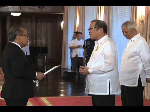 Presentation of Credentials Marshall Islands Ambassador 6/10/2014