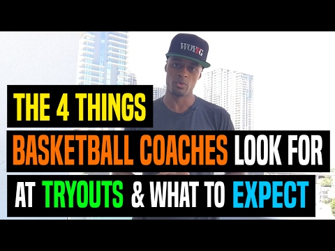 The 4 Things Basketball Coaches Look For At Tryouts & What To Expect | Dre Baldwin