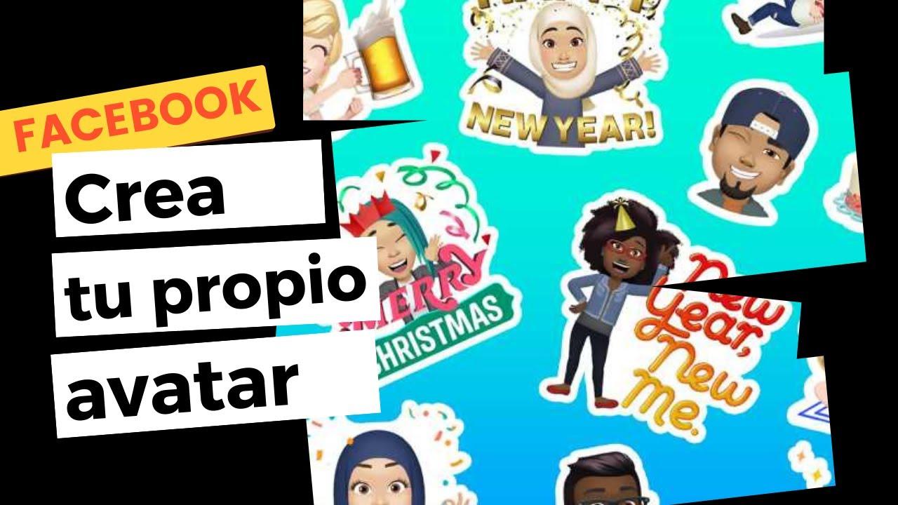Cómo crear tu propio avatar en facebook muy fácil
