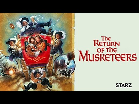 Download The Return of the Musketeers (1989)  Michael York, Richard Chamberlain -  Action/ Adventure/ Comedy