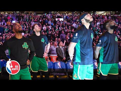 The Celtics Honor Kobe Bryant With Pregame Ceremony In Boston   NBA On ESPN