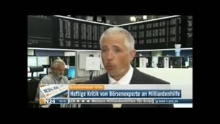 Dirk Müller: Das Geld der deutschen Steuerzahler ist weg! An Dreistigkeit nicht zu überbieten