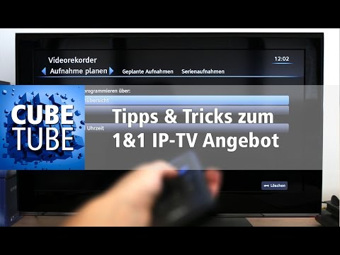 1&1 IPTV Tipps & Tricks