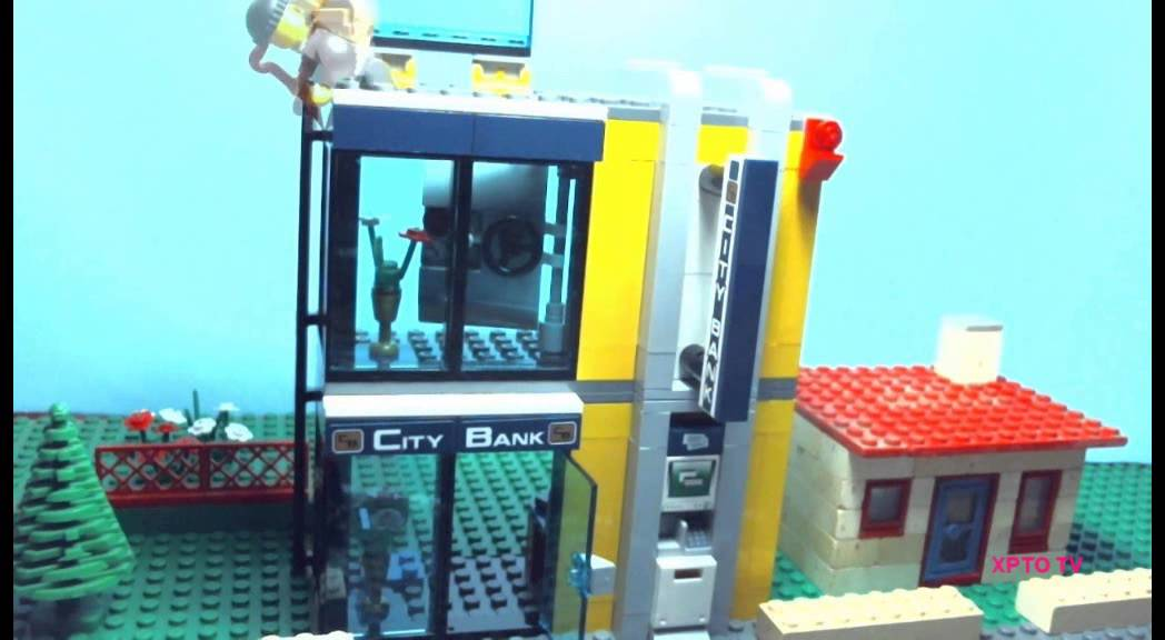 The Lego City Bank Robbery Youtube
