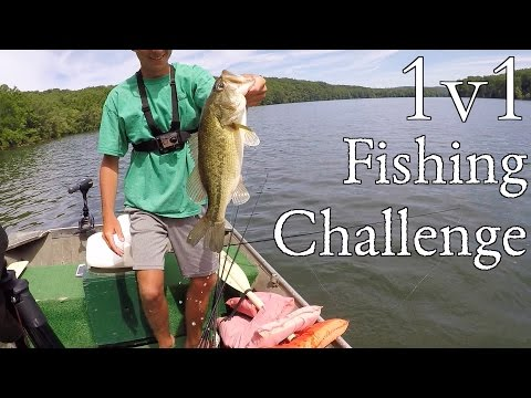 1v1 Ultimate Fishing Challenge!!! (ft. Apbassing)