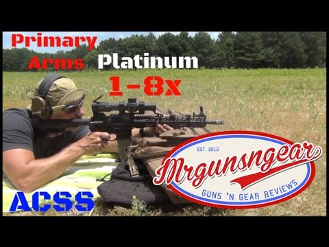 Primary Arms Platinum Series 1-8x FFP Scope Review (HD)