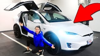 OUR NEW CAR! We bought a Tesla! (DREAM CAR)