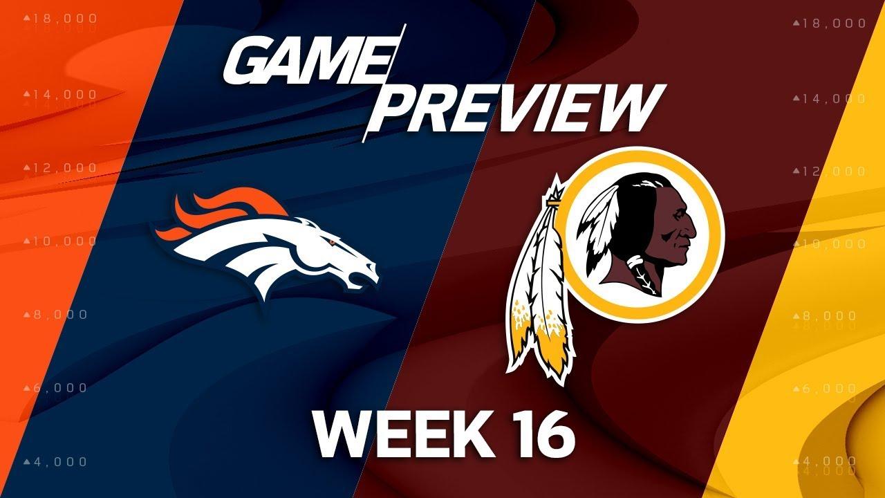 Image result for Broncos vs Redskins live pic logo
