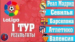 Ла Лига 2021 2022 Чемпионат Испании 1 Тур Результаты Какие шансы у Барселоны без МЕССИ