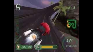 Обзор Игры CrazyFrog Racer 3 (PS3)