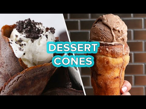 5 Dessert Cones To Satisfy Your Sweet Tooth •Tasty