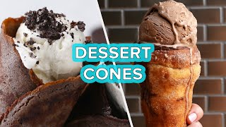 5 Dessert Cones To Satisfy Your Sweet Tooth • Tasty