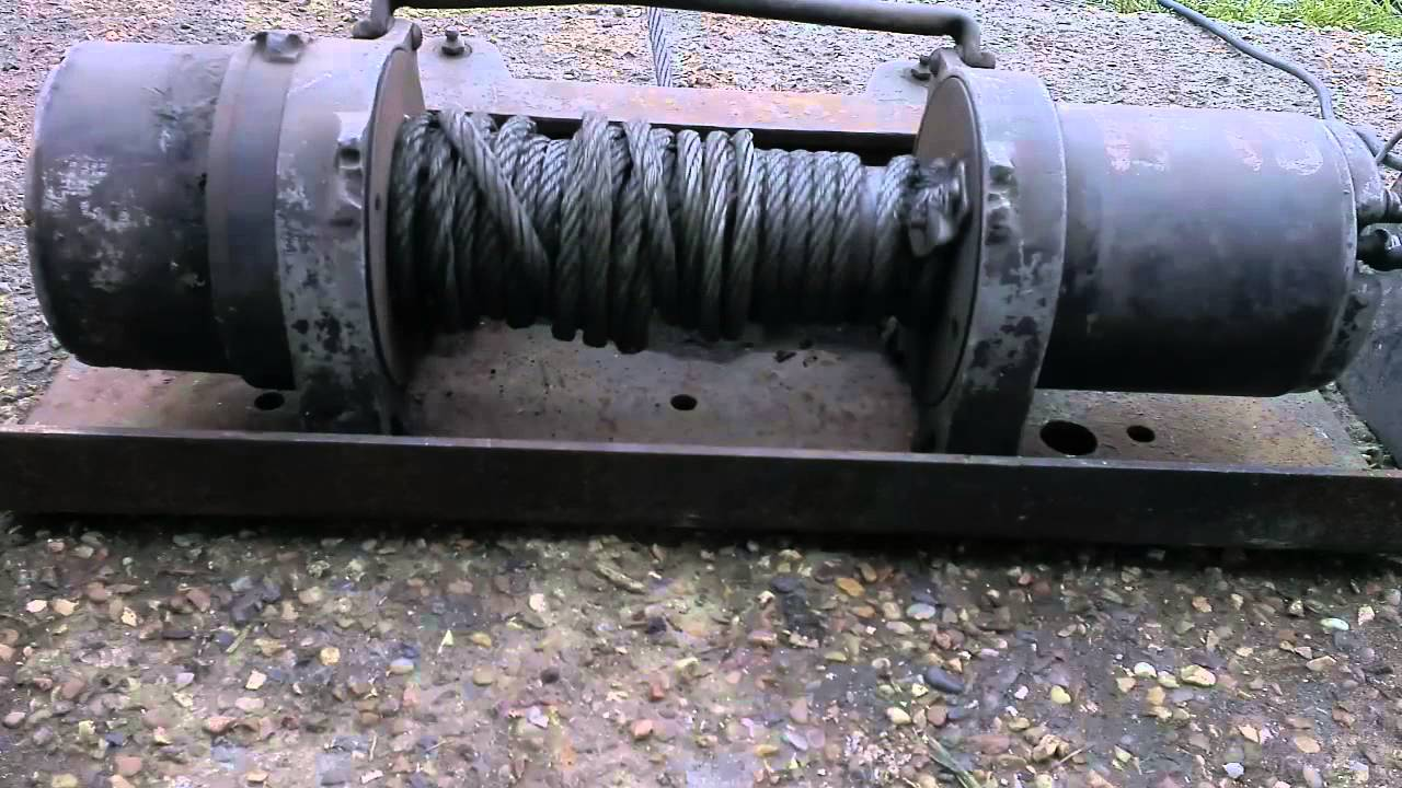 hight resolution of ramsey winch