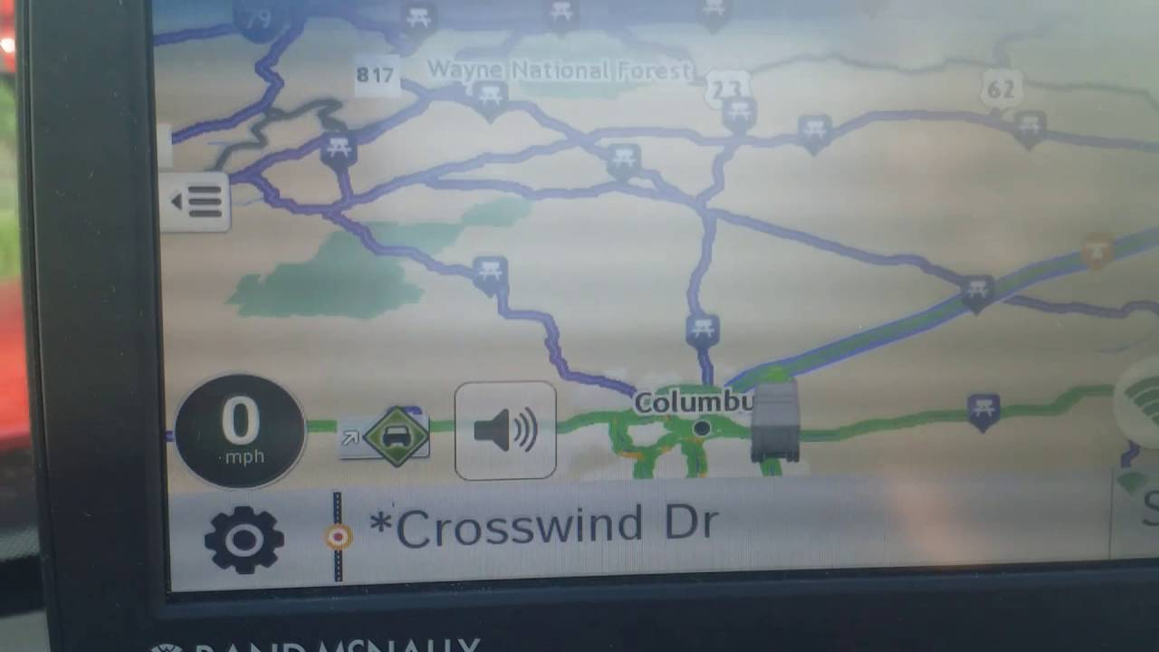 Rand Mcnally Tnd 730 Truck Gps What I Like About Youtube