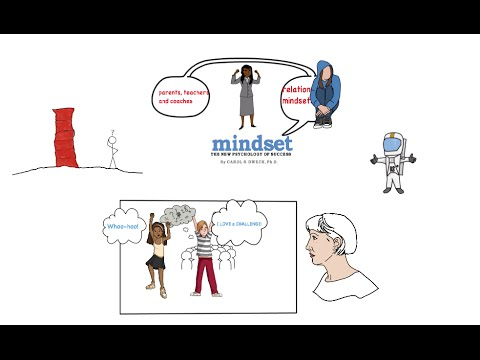 MINDSET by CAROL DWECK - ANIMATED BOOK REVIEW - Take on the mindset just by watching this!