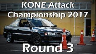 GYMKHANA/KONE Attack Championship 2017 Round 3☆Proton Putra
