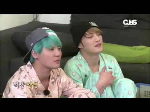 "[ENG SUB] JYJ ""Fruitful Trip"" Ep. 4 - The random game for sleeping arrangements"