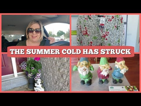 THE SUMMER COLD HAS STRUCK