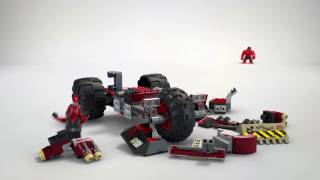 lEGO Marvel Super Heroes 76078 Халк против Красного Халка Обзор Лего Набора