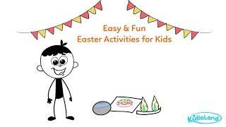 Easy & Fun Easter Activities for Kids | Easter | KidloLand: Nursery rhymes, Songs, Stories & Games