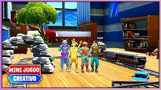 HACEN TRAMPAS EN EL ESCONDITE *HIDE AND SEEK* (FORTNITE MINIJUEGOS)