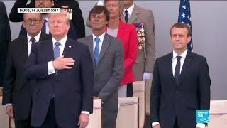 Emmanuel Macron et Donald Trump, entre union et désaccords