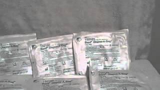 Lot of 9 Bard Dispoz-A-Bag large 32 oz. Catheter bag Leg Bag 150103