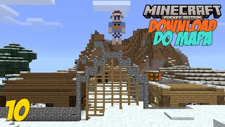 Minecraft PE 0.13.1 DOWNLOAD DO MAPA EM BUSCA DO NATAL #10 ! MCPE 0.13.1