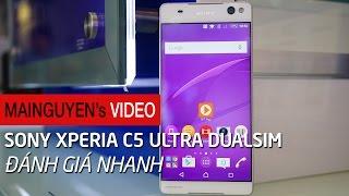 danh gia nhanh sony xperia c5 ultra dual - wwwmainguyenvn