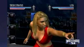 WWE WrestleMania 21 - Bra and Panties