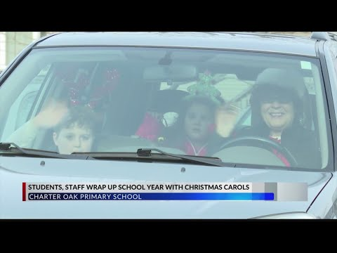 Charter Oak Primary School carries on its Christmas singalong tradition, bringing joy to students an