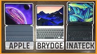 Best iPad Pro Keyboard Case To Buy? Inateck vs Apple vs Brydge Pro
