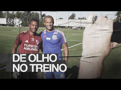 SÁNCHEZ E DE LA CRUZ JUNTOS E O TREINO DO SANTOS ANTES DA ESTREIA | DE OLHO NO TREINO (02/03/20)