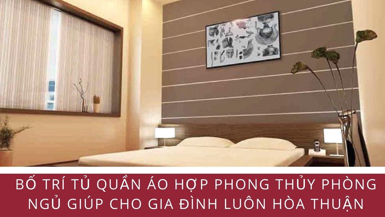 Bố Trí Tủ Quần Áo Hợp Phong Thủy Phòng Ngủ Giúp Cho Gia Đình Luôn Hòa Thuận – Blog Phong Thủy