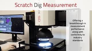 Scratch Dig Measurement - Automated Optic Surface Quality Measurement/Inspection - OptiLux SD