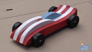 Машинка из дерева своими руками! Как сделать детскую машинку?