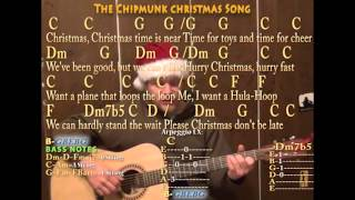 christmas-don-t-be-late-christmas-fingerstyle-guitar-cover-lesson-with-chords