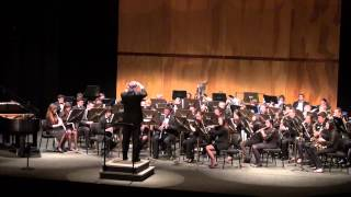 LOHS Wind Ensemble performing