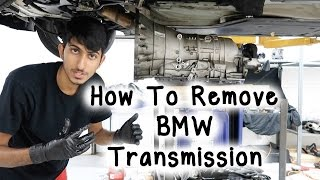How To Remove BMW E60 5 Series Transmission