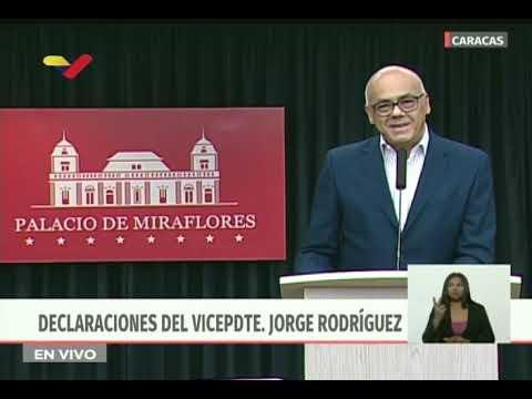 Jorge Rodríguez presenta pruebas de nuevo golpe de Estado en Venezuela para el 23 y 24 de junio 2019