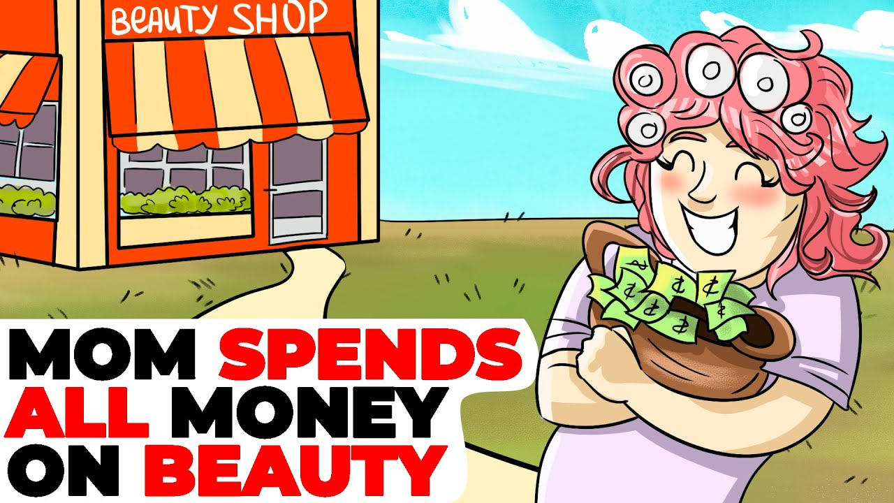 Mom Spends All Money on Her Appearance and Rejuvenation | Animated Story