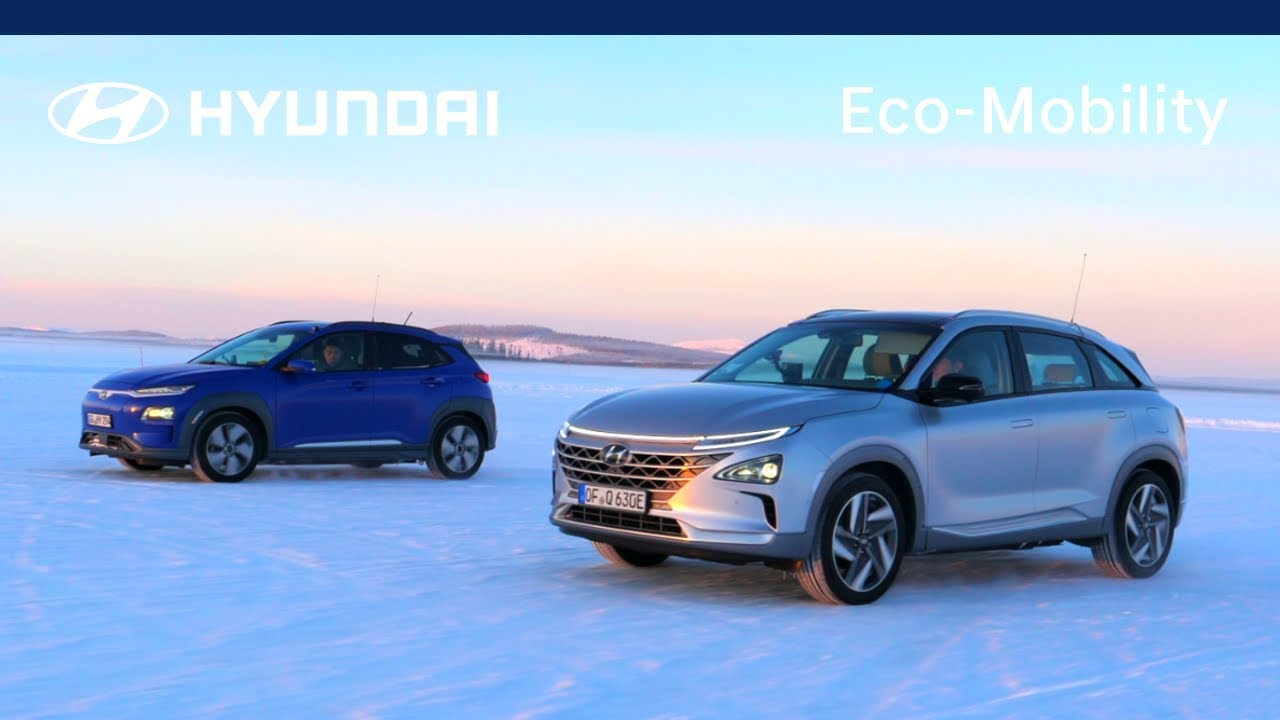 Hyundai Kona Electric & NEXO - Cold Weather Test