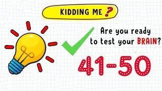 Kidding Me Level 41 42 43 44 45 46 47 48 49 50 Walkthrough Solution